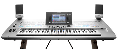 Tyros4 arranger workstation keyboard
