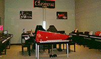 Clavinova Digital Piano Room