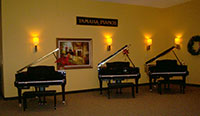 Disklavier Player Piano Room