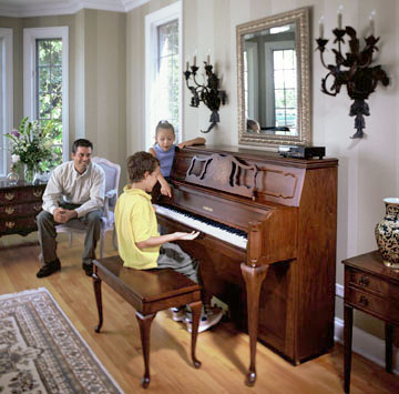 Family at the Piano
