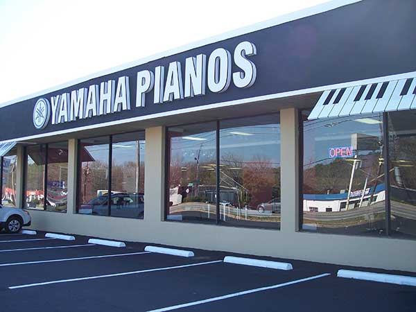 Piano Distributors main showroom in Marietta, Ga