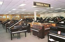 Piano and Clavinova showroom