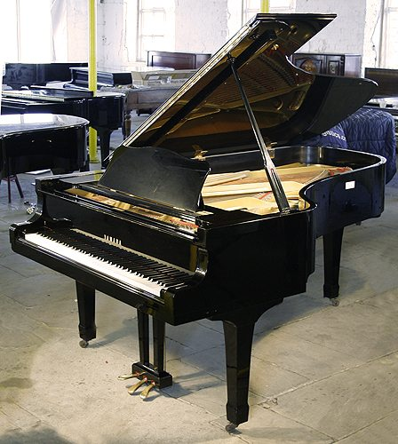 Yamaha c7 yamaha pianos piano distributors piano new used for Big grand piano