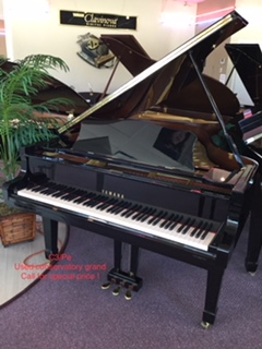 Yamaha C3, the gold standard for grand pianos.